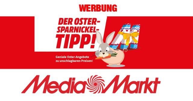 Die Angebote beim Oster-Sparnickel-Tipp von MediaMarkt gelten bis 11. April 2021 (Abbildung: MediaMarkt)