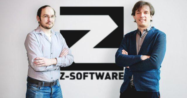 Enrico Gebert (Silver Seed Games) und Andreas Heldt (Z-Software) - Foto: Z-Software GmbH