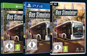 Erscheint für Xbox, PlayStation und PC: der Bus Simulator 21 (Abbildung: Astragon Entertainment)