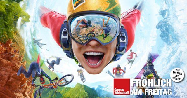 Sprungbrett für die Karriere bei Red Bull: Extremsport-Spiel Rider's Republic (Abbildung: Ubisoft)