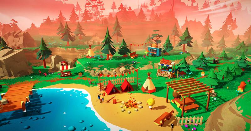 Haven Park von Fabian Weibel ist das erste Spiel des Labels Mooneye Indies.