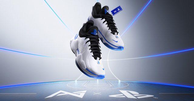 Fast zu schade zum täglichen Gebrauch: der PG 5 PlayStation 5 Colorway Sneaker von Nike (Abbildung: Sony Interactive)