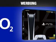 Angebot: O2 Free M mit PlayStation 5 Digital Edition (Abbildungen: O2 / Sony Interactive)