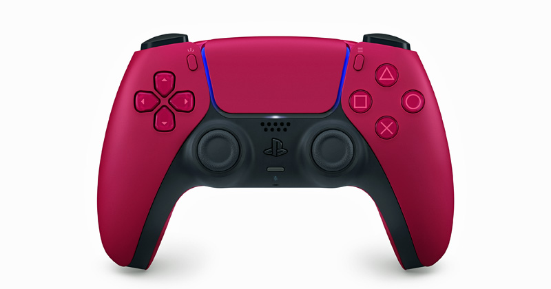 Der PS5 DualSense Controller in Cosmic Red kostet 79,99 Euro (Abbildung: Sony Interactive)