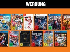 Angebot aus dem neuen Saturn Gutscheinheft: Drei Games für 49 Euro (Abbildung: Saturn)