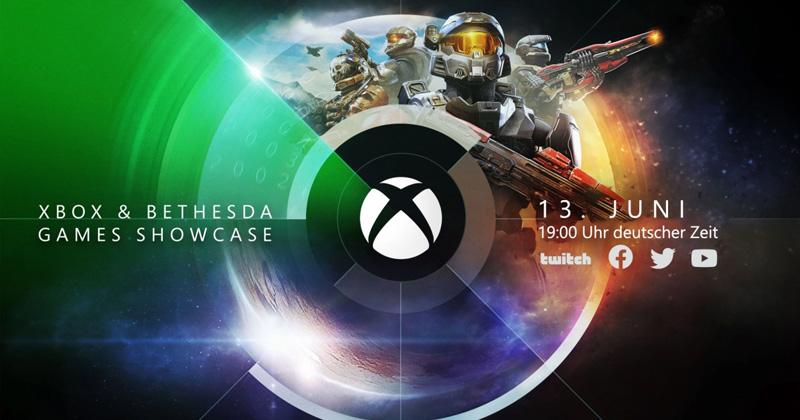 Termin für den Xbox and Bethesda Games Showcase: Sonntag, 13. Juni ab 19 Uhr (Abbildung: Microsoft)