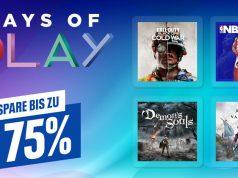 Während der Days of Play 2021 winken Rabatte von bis zu 75 Prozent (Abbildung: Sony Interactive)