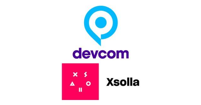 Xsolla ist einer der Hauptsponsoren der Entwicklerkonferenz Devcom (Abbildungen: Devcom GmbH, Xsolla)