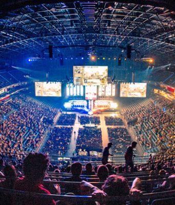 Deutschland ist regelmäßig Gastgeber für E-Sport-Groß-Turniere - hier die ESL One Cologne 2018 in der Lanxess-Arena (Foto: MTG / Adela Sznajder)