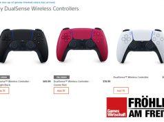 In den USA werden Konsolen, Controller & Co. bereits via PlayStation Direct vertrieben (Screenshot)