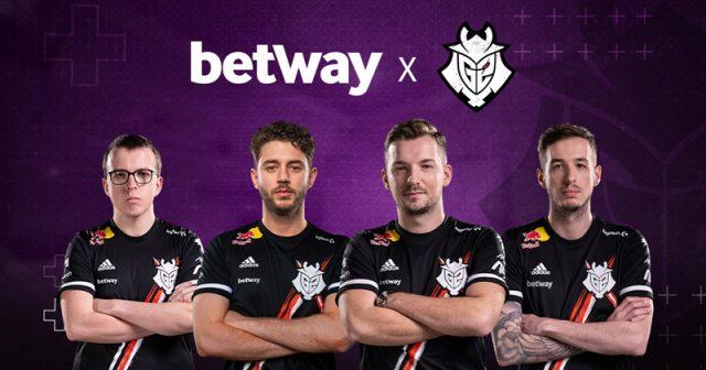 Betway ist neuer Sponsor von G2 Esports (Foto: G2 Esports)