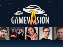 Die Gastgeber der Gamevasion 2021: Kalle, Rocket Beans, Gnu, HandOfBlood und Maxim (Fotos: Instinct3, Rocket Beans Entertainment, Freaks 4U Gaming, Marco Drews)