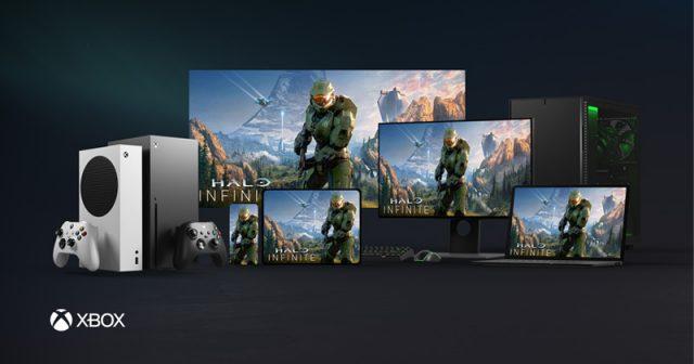 Auf allen Bildschirmgrößen zu Hause: Microsoft will Spiele wie Halo: Infinite auf allen Geräten ermöglichen.