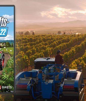 Der Landwirtschafts-Simulator 22 erscheint am 22. November 2021 (Abbildung: Giants Software)