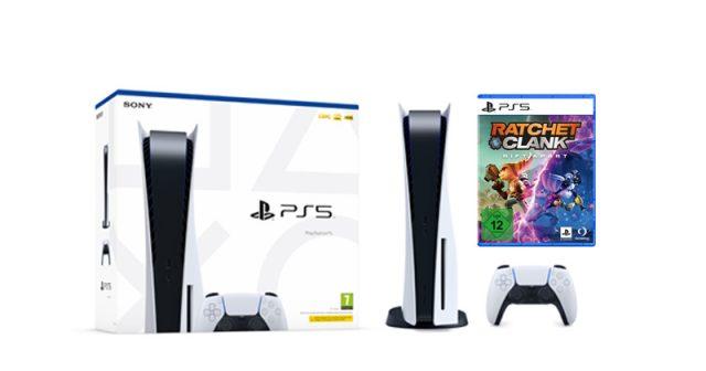 Kommt das PS5-Bundle bestehend aus PlayStation 5 und Ratchet & Clank: Rift Apart? (Abbildungen: Sony Interactive)