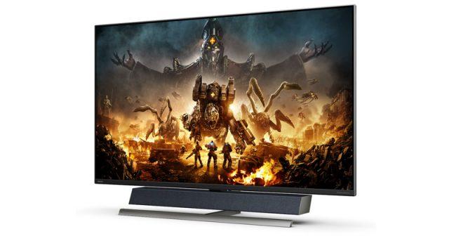 Der Philips Momentum 559M1RYV ist speziell für den Einsatz mit der Xbox Series X / S konzipiert (Abbildung: MMD / Philips)