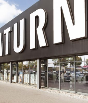 In Deutschland geht es rund 150 Saturn-Märkte (Abbildung: MediaMarktSaturn)
