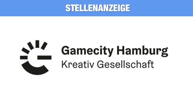 Stellenanzeige: Die Hamburg Kreativ Gesellschaft mbH sucht einen Projektmanager (m/w/d) für die Standortinitiative Gamecity Hamburg.