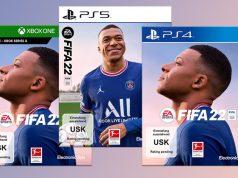 Nur in der FIFA 22 Ultimate Edition ist das Upgrade auf PS5 beziehungsweise Xbox Series X inklusive (Abbildungen: EA)