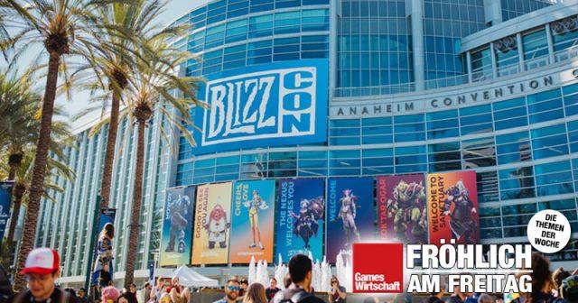 Anlässlich der Blizzard-Hausmesse Blizzcon machten es sich Führungskräfte in der