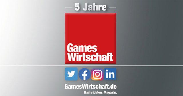 5 Jahre GamesWirtschaft