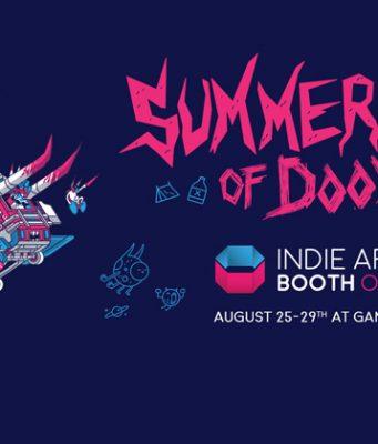 """Motto der Indie Arena Booth Online 2021: """"Summercamp of Doom"""" (Abbildung: Supercrowd Entertainment)"""