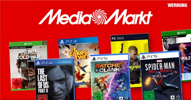 Nur bis 3. August 2021: 3 Games kaufen - das günstigste gibt es geschenkt (Abbildung: MediaMarktSaturn)