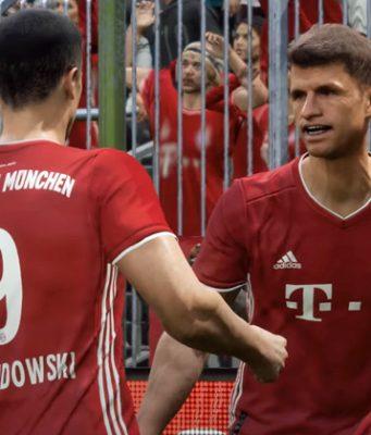 Auch für eFootball arbeitet Konami eng mit Rekordmeister FC Bayern München zusammen (Abbildung: Konami)