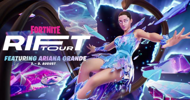 Epic Games schickt Ariana Grande in Fortnite auf