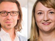 """Stühlerücken beim Game-Verband: Marketingleiter Thorsten Hamdorf verlässt den Verband - Ina Göring wird Leiterin der Abteilung """"Mitglieder"""" (Fotos: Game e. V.)"""