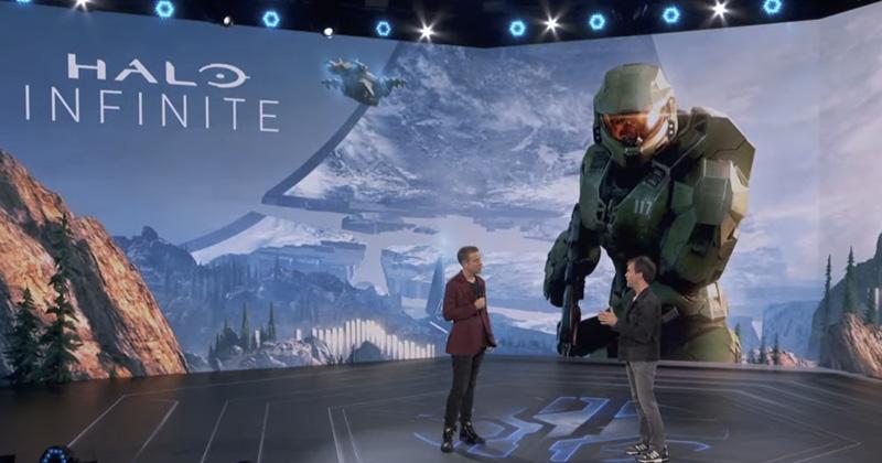 Die Gamescom-Eröffnungs-Show Opening Night Live wurde abermals von Geoff Keighley produziert und moderiert (Screenshot: KoelnMesse)