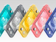 Die Nintendo Switch Lite ist in fünf Farben erhältlich (Abbildung: Nintendo)