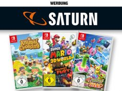 Saturn-Aktion: Drei Nintendo-Switch-Spiele für 111 Euro (Abbildung: Saturn / Nintendo)