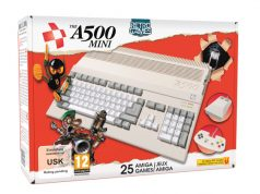 Erscheint Anfang 2022: Amiga-Nachbau The A500 Mini (Abbildung: Retro Games Ltd.)