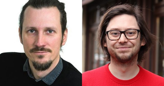 Teil des Organisations-Teams der Games Week Berlin 2021: Tobias Kopka und Daniel Røskaft (Fotos: Booster Space)