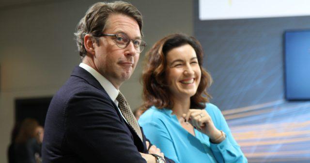 Die CSU-Politiker Andreas Scheuer und Dorothee Bär gehören auch nach der Bundestagswahl 2021 dem Parlament an (Foto: Fröhlich)