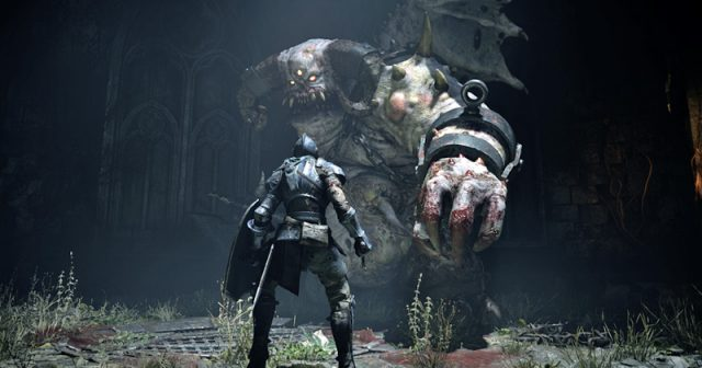 Szene aus dem PlayStation 5-Launchtitel Demon's Souls von Bluepoint Games (Abbildung: Sony Interactive)
