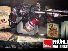 Wer sich für die Far Cry 6 Collector's Edition entscheidet, erhält eine Replica-Ausgabe des Flammenwerfers Tostador (Abbildung: Ubisoft)