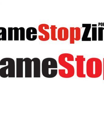 Aus GameStopZing wird GameStop - oben das 'alte' Logo, unten das neue (Abbildungen: GameStop Deutschland)