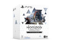 Die Horizon: Forbidden West Collector's Edition wird in einem mächtigen Karton ausgeliefert (Abbildung: Sony Interactive)