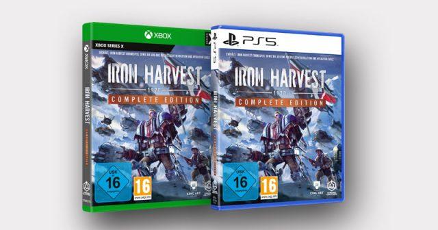 Ab dem 26. Oktober erhältlich: die Iron Harvest Complete Edition für PS5 und Xbox Series X/S (Abbildung: Koch Media)