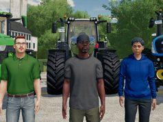 Der Charakter-Editor im Landwirtschafts-Simulator 22 ermöglicht die freie Gestaltung der Spielfiguren (Abbildung: Giants Software)