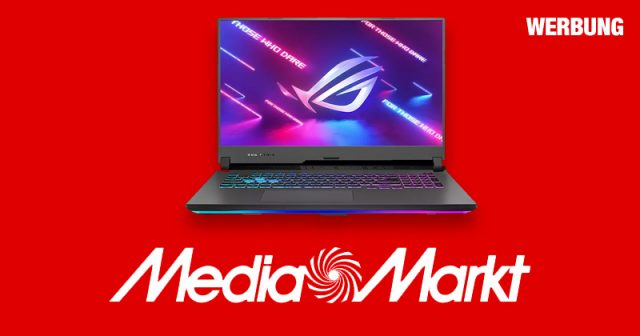 Jetzt bei MediaMarkt: ASUS Gaming-Notebooks mit AMD Ryzen-Prozessor (Werbung)