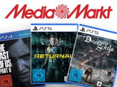 The Last of Us Part 2, Returnal und Demon's Souls sind Teil des PlayStation Summer Sale bei MediaMarkt (Abbildungen: MediaMarkt)
