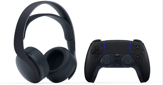 Passend zum DualSense-Controller erscheint am 29.10. auch das Pulse 3D Wireless Headset in Midnight Black (Abbildung: Sony Interactive)