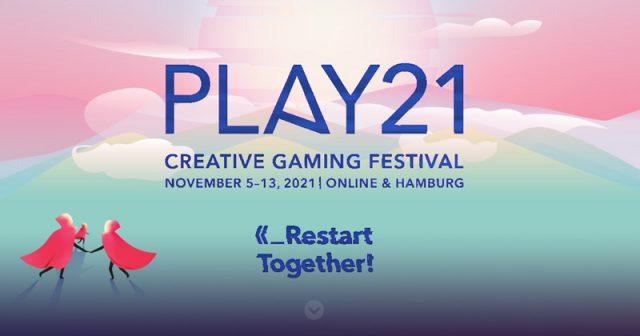 Termin für die Play21 in Hamburg und im Netz: 5. bis 13. November 2021 (Abbildung: Initiative Creative Gaming e. V.)