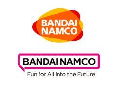 Oben das bisherige, unten das neue Logo von Bandai Namco Entertainment