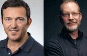 Crytek-Gründer Avni Yerli und Devcom-Chef Stephan Reichart schließen eine strategische Partnerschaft (Abbildungen: Devcom GmbH)
