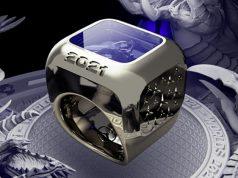 Die Spieler des Weltmeister-Teams bei den League of Legends Worlds 2021 erhalten diesen Ring (Abbildung: Mercedes-Benz)